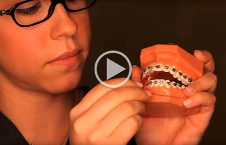 Brushing and Flossing video