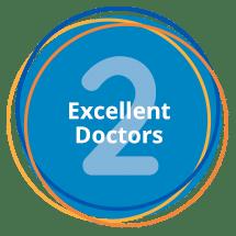2 excellent doctors